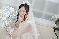 美月アンジェリアがぼくのお嫁さん ~ウェディングドレスに透けた美乳~ 美月アンジェリア